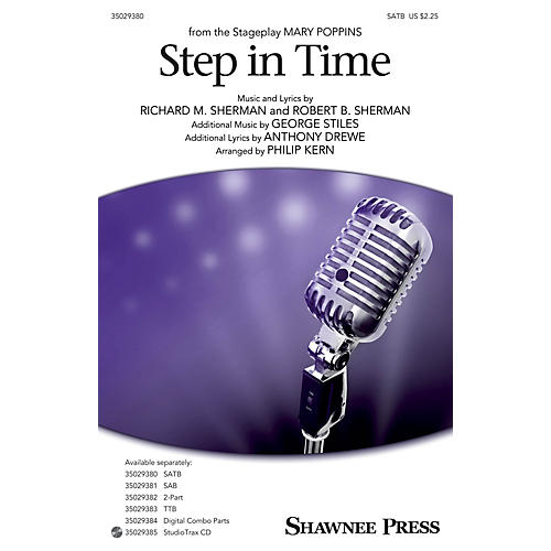 Shawnee Press Step In Time (from Mary Poppins) SATB arranged by Philip Kern