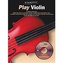 Music Sales Step One: Play Violin Music Sales America Series Softcover with CD Written by Antoine Silverman