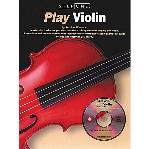 Music Sales Step One: Play Violin Music Sales America Series Softcover with CD Written by Antoine Silverman-thumbnail