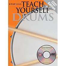 Music Sales Step One: Teach Yourself Drums Music Sales America Series Softcover with DVD Written by Various