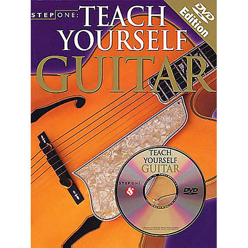 Music Sales Step One: Teach Yourself Guitar Music Sales America Series Softcover with DVD Written by Various-thumbnail