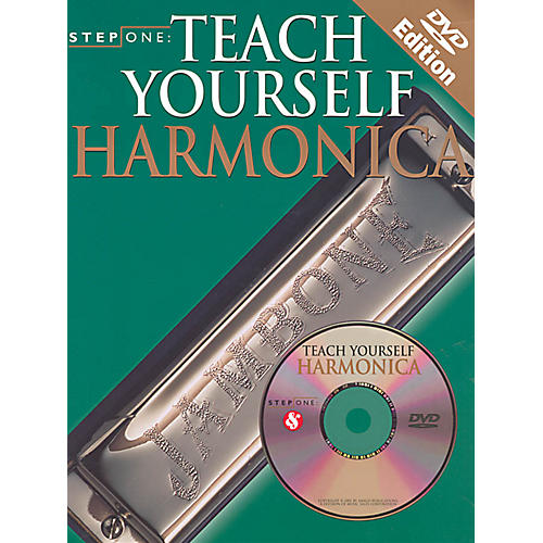 Music Sales Step One: Teach Yourself Harmonica Music Sales America Series Softcover with DVD Written by Various-thumbnail