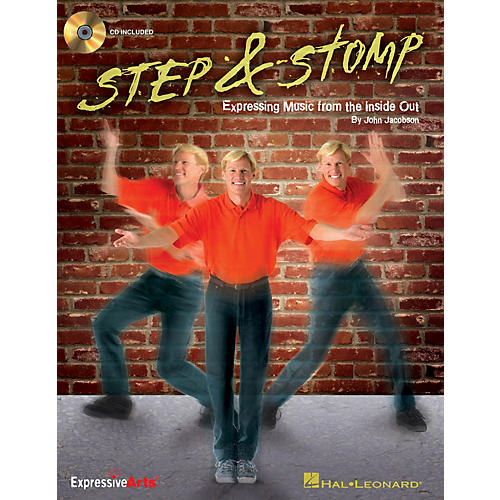 Hal Leonard Step & Stomp (Expressing Music from the Inside Out) CLASSRM KIT Composed by John Jacobson-thumbnail
