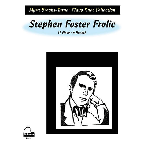 SCHAUM Stephen Foster Frolic (duet) Educational Piano Series Softcover-thumbnail