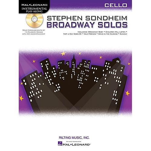 Hal Leonard Stephen Sondheim - Broadway Solos (Cello) Instrumental Play-Along Series Softcover with CD-thumbnail