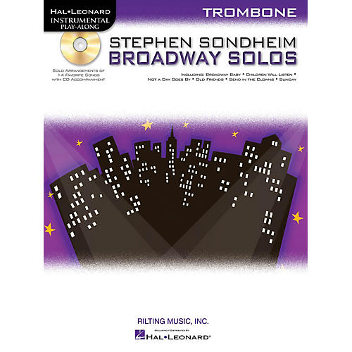 Hal Leonard Stephen Sondheim - Broadway Solos (Trombone) Instrumental Play-Along Series Softcover with CD-thumbnail