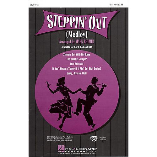 Hal Leonard Steppin' Out (Medley) SAB Arranged by Mark Brymer