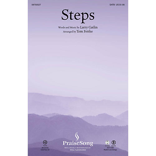 PraiseSong Steps CHOIRTRAX CD Arranged by Tom Fettke-thumbnail