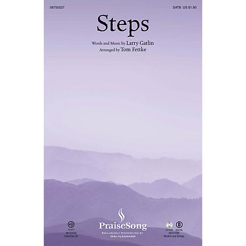 PraiseSong Steps SATB arranged by Tom Fettke-thumbnail