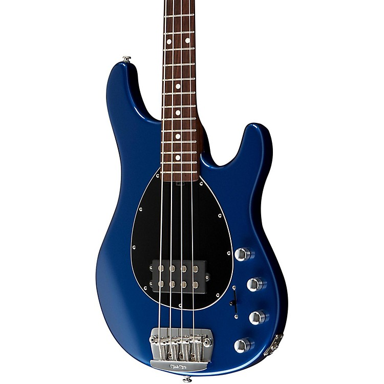 Music Man Sterling Electric Bass Guitar with All Rosewood Neck Pearl Blue