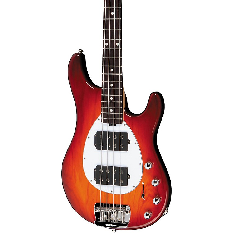 Music Man Sterling HH 4-String Bass Honey Burst Rosewood Fretboard