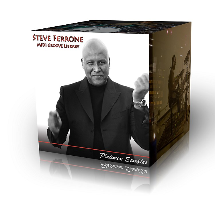 Platinum SamplesSteve Ferrone Multi-Format MIDI Groove Library Software Download
