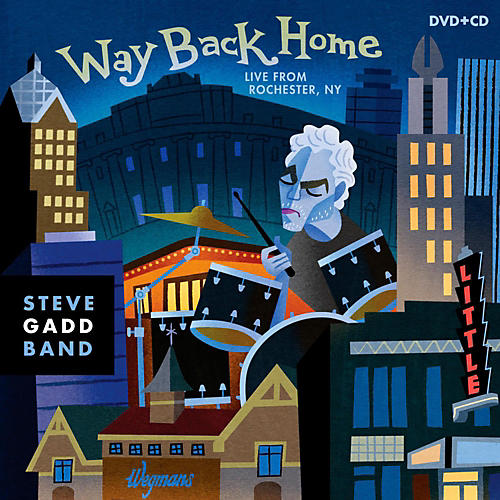 Universal Music Group Steve Gadd Band - Way Back Home: Live From Rochester [2 DVD/CD Combo]