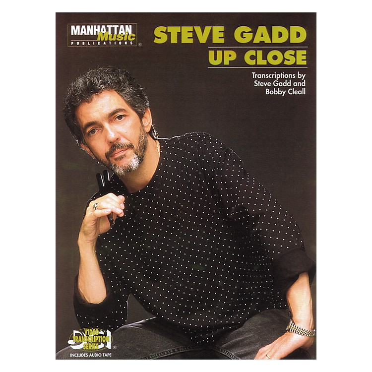 Alfred Steve Gadd Up Close (Book/CD)