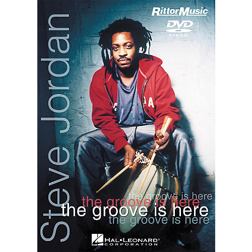 Hal Leonard Steve Jordan - The Groove is Here (DVD)