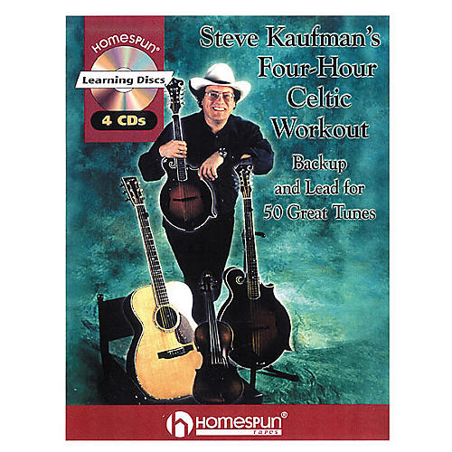Homespun Steve Kaufman's Four-Hour Celtic Workout (Book/CD)