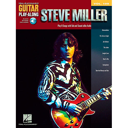 Hal Leonard Steve Miller - Guitar Play-Along Volume 109 (Book/CD)