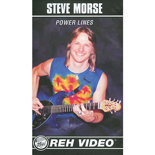 Alfred Steve Morse Power Lines (Video)