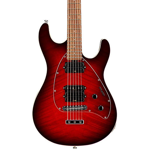 Music Man Steve Morse Y2D Signature Electric Guitar Natural Rosewood Rosewood Neck & Fretboard