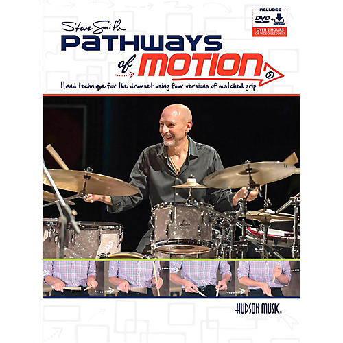 Hal Leonard Steve Smith Pathways of Motion Book/DVD/Online Media