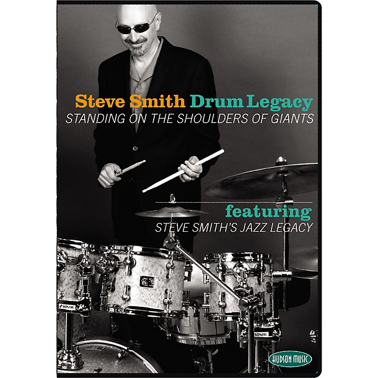Hudson Music Steve Smith's Drum Legacy - Standing on the Shoulder of Giants 2 DVD Set with CD