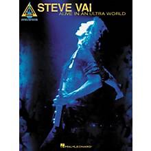 Hal Leonard Steve Vai Alive In An Ultra World Guitar Tab Songbook