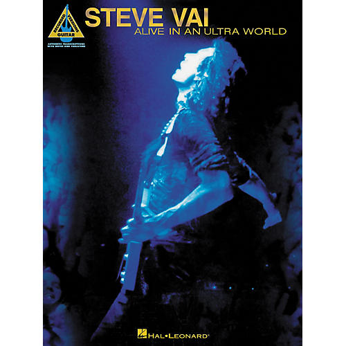 Hal Leonard Steve Vai Alive In An Ultra World Guitar Tab Songbook