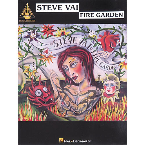 Hal Leonard Steve Vai Fire Garden Guitar Tab Songbook