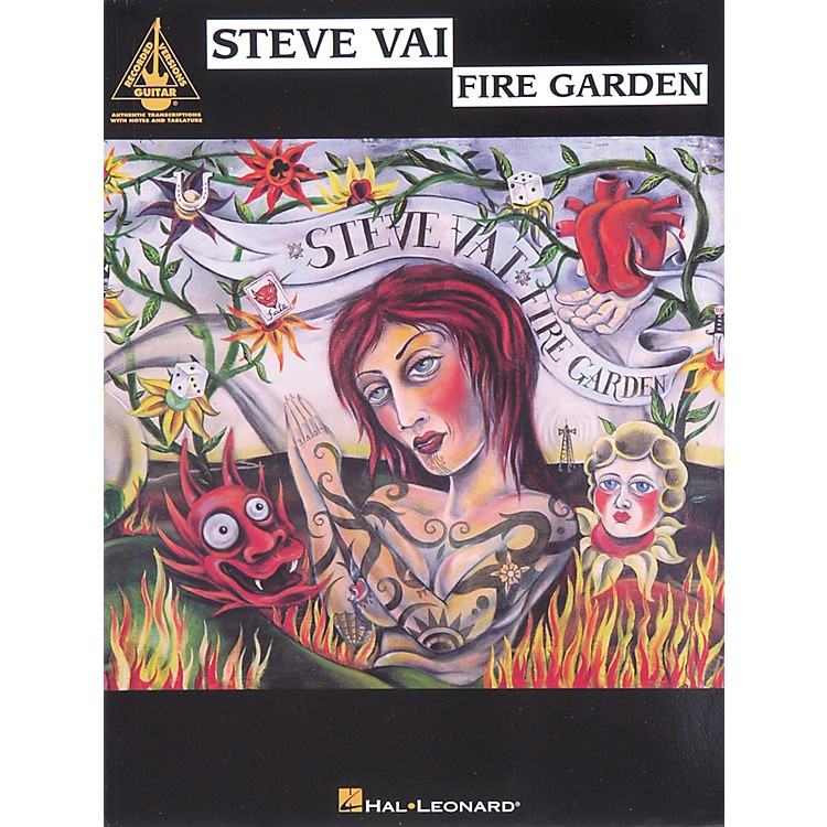 Hal LeonardSteve Vai Fire Garden Guitar Tab Songbook