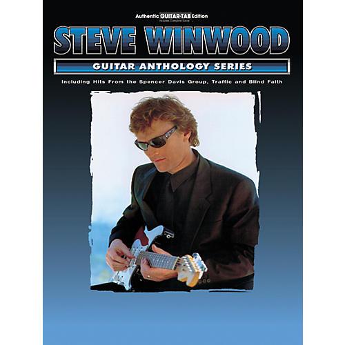 Alfred Steve Winwood Anthology Series Guitar Tab Book