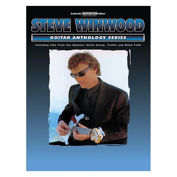 AlfredSteve Winwood Anthology Series Guitar Tab Book