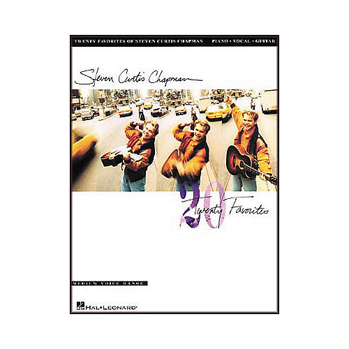 Hal Leonard Steven Curtis Chapman Twenty Favorites Piano, Vocal, Guitar Songbook-thumbnail
