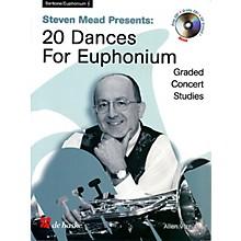 De Haske Music Steven Mead Presents 20 Dances for Euphonium (Treble Clef) De Haske Play-Along Book Series by Steven Mead