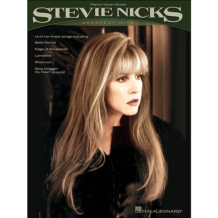 Hal Leonard Stevie Nicks Greatest Hits arranged for piano, vocal, and guitar (P/V/G)