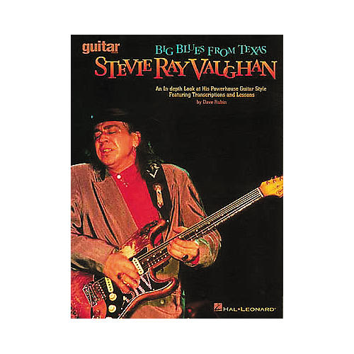 Hal Leonard Stevie Ray Vaughan - Big Blues from Texas