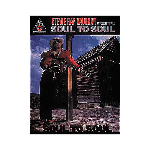 Hal Leonard Stevie Ray Vaughan - Soul To Soul (Book)-thumbnail