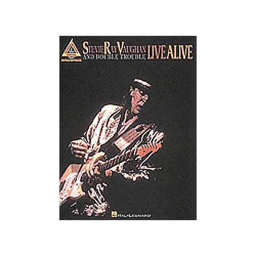 Hal Leonard Stevie Ray Vaughan Book Live Alive