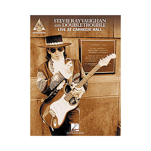 Hal Leonard Stevie Ray Vaughan & Double Trouble Live at Carnegie Hall Guitar Tab Book