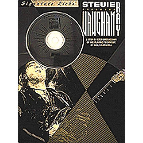 Hal Leonard Stevie Ray Vaughan Guitar Signature Licks Book with CD