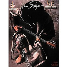 Hal Leonard Stevie Ray Vaughan In Step Guitar Tab Book