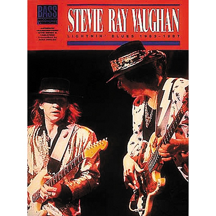 Hal Leonard Stevie Ray Vaughan — Lightnin' Blues 1983 - 1987 Bass Tab Songbook