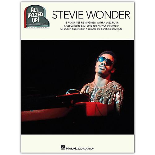 Hal Leonard Stevie Wonder - All Jazzed Up!  Intermediate Piano Solo Songbook