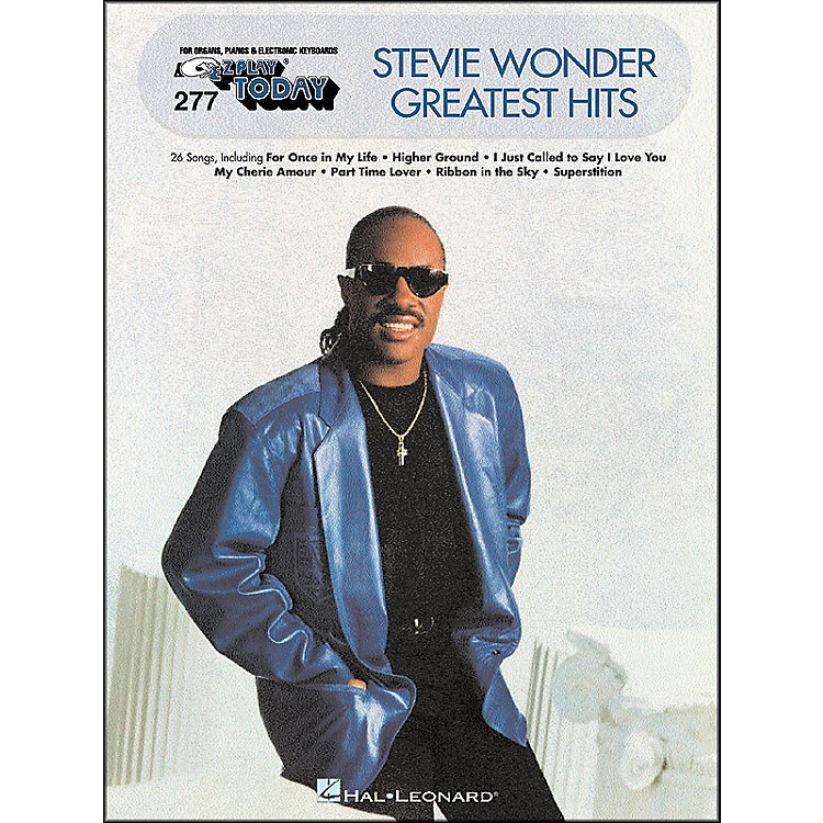 Hal LeonardStevie Wonder Greatest Hits E-Z Play 277