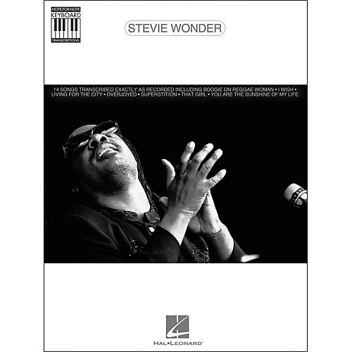 Hal Leonard Stevie Wonder Note for Note Keyboard Songbook
