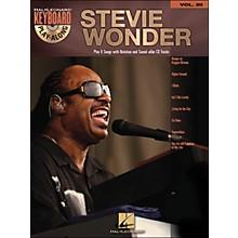 Hal Leonard Stevie Wonder Vol. 20 Book/CD Keyboard Play-Along