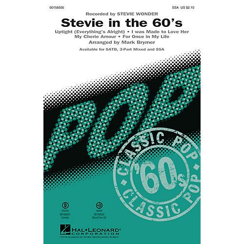 Hal Leonard Stevie in the 60s (Medley) SSA arranged by Mark Brymer-thumbnail