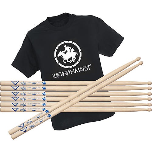 Vater Stewart Copeland Limited Edition Drumsticks Buy 4 Get Free T-Shirt-thumbnail