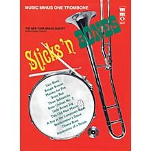 Music Minus One Sticks 'n Bones (Music Minus One Trombone) Music Minus One Series Softcover with CD