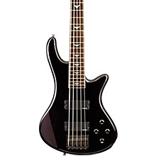 Schecter Guitar Research Stiletto Extreme-5 5-String Bass Guitar See-Thru Black