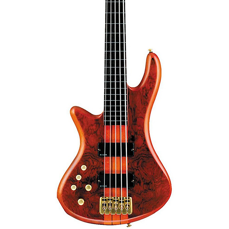 Schecter Guitar ResearchStiletto Studio-5 Left-Handed BassHoney Satin